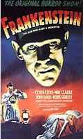 """Cartaz do filme """"Frankenstein"""", de James Whale"""