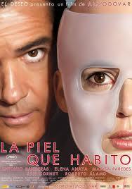 """Cartaz do filme """"A pele que habito"""", de Pedro Almodóvar"""