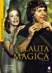 "Cartaz do filme ""A flauta mágica"", de Ingmar Bergman"