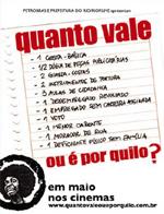 """Cartaz do filme """"Quanto vale ou é por quilo?"""", de Sérgio Bianchi"""