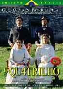 """Pôster do filme """"O quatrilho"""", de Fábio Barreto"""